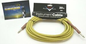 NEW-Fender-Custom-Shop-Performance-20-039-Instrument-Cable-Tweed-099-0820-050