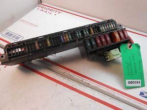 04 bmw x5 fuse box 04-07 bmw 530i front fuse box 61146932452 6932452 qb0354 ...