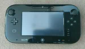 Nintendo Wii U Gamepad black Excellent condition - <span itemprop='availableAtOrFrom'>London, United Kingdom</span> - Nintendo Wii U Gamepad black Excellent condition - London, United Kingdom