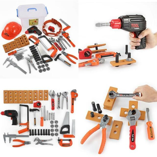 kids work tool belt set boys toddler building kit tools construction ...