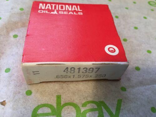 0.656 x 1.575 x 0.250 XC00VB71LN National Oil Seal 481397