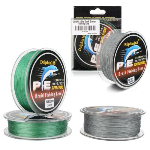 300M 500M 8-50LB Super Strong Spectra Extreme PE Braided Sea Fishing Line lot