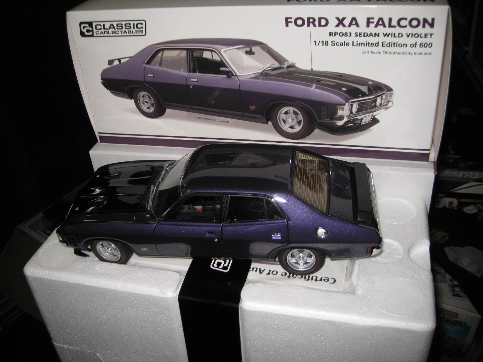 più sconto classeIC 1 18 FORD XA FALCON GT GT GT RPO83  4dr SEDAN WILD viola   18678 AWESOME auto  acquisti online