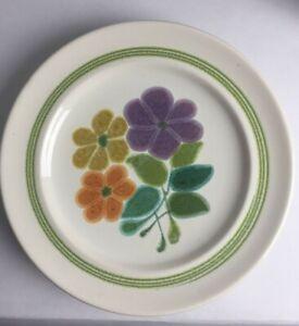 """Franciscan Ware """"Floral"""" pattern, Dessert Plates 1970's Vintage 1 ea (3 Avb)"""