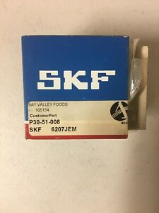 SKF-Explorer-6207-JEM-Bearing-3-Pack-New-And-Free-Shipping