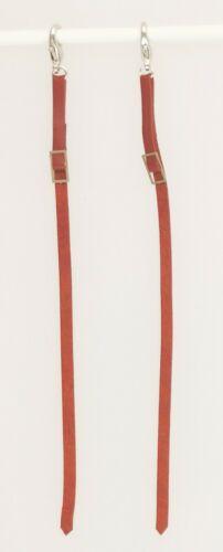 Ausbinder Leder Zubehör passend für Schleich Pferde Sattel Trense Longiergurt