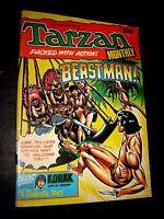 TARZAN MONTHLY MAGAZINE (1978 Series) #1 BEASTMAN Fine