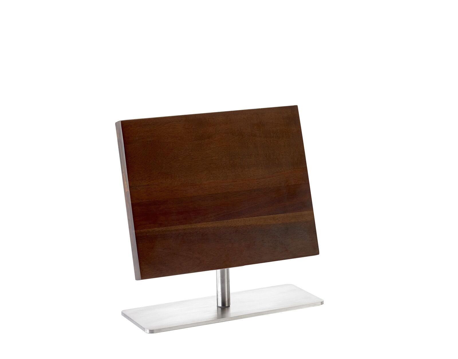 Mercer Culinary Acacia Magnetic Knife Board with Stand - Medium