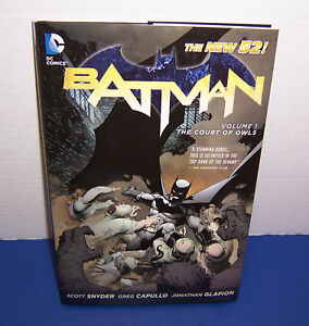 2012-DC-Comics-Vol-1-Batman-The-Court-of-Owls-Hardcover-Snyder-Capullo-Glapion