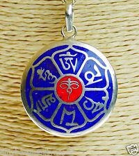 Chenresing Amuleto Mantra Mandala Colgante De India Compasión a75