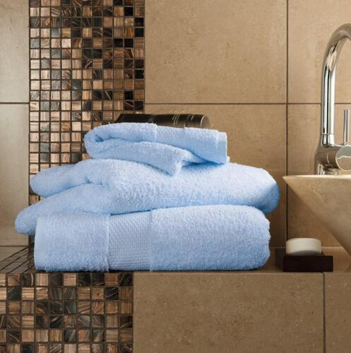 Egyptian Cotton Luxury Hotel Collection Super Soft Towel 600GSM 100/%  All Sizes