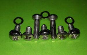 VW-Split-Screen-Van-LATER-Engine-Cover-Deck-Lid-Locks-Stainless-Fitting-Screws