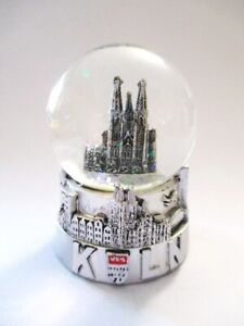 Koeln-Cologne-Dom-Skyline-Schneekugel-Snowglobe-Souvenir-Germany-neu