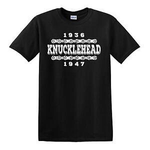 KNUCKLEHEAD 1936-1947 T-shirt - Harley Davidson Sturgis | eBay