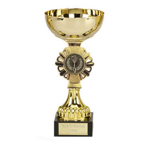 325 A Gold Shield Cup taille 16 cm Gravure Gratuite