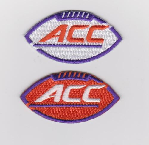 CLEMSON TIGERS ACC PATCH COMBO NCAA COLLEGE FOOTBALL BASKETBALL JERSEY PATCH NEW