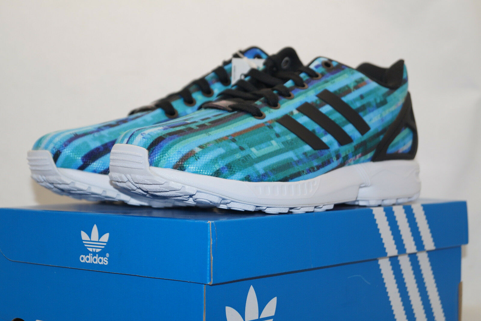 Adidas ZX Flux torsion UE 41.3 Running zapatos turquesa s76505 zapatillas