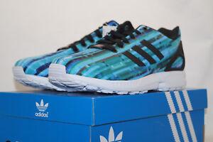 7 3 5 Running Shoes Uk Laufschuhe Türkis Zx 41 Adidas Flux Eu S76505 Torsion HBwqC0