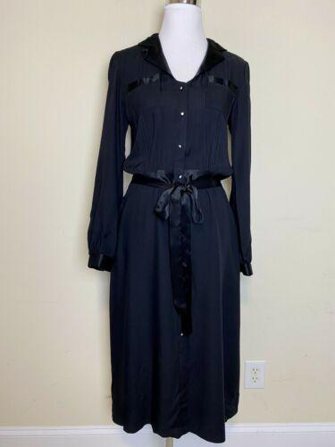 Vintage Jessica McClintock Gunne Sax Dress Long Bl