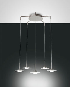 dimmare-Fabas-Luce-Lumiere-Pendante-LED-Crow-5-BRAS-Lampe-suspendue-LUMINAIRE