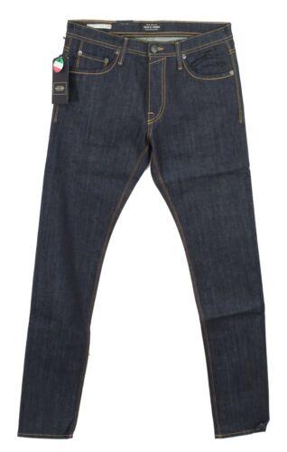 Jack /& Jones jeans bleu foncé brut homme slim fit Glenn Felix stretch 12115686