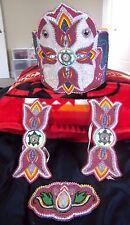 Native American Beaded Crown Set Southern Traditional Beadwork regalia