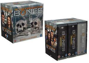 BONES-1-12-2005-2017-COMPLETE-Flesh-amp-Bones-Series-Collection-R2-DVD-not-US
