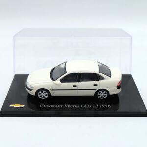 IXO-Altaya-Chevrolet-Vectra-GLS-2-2-1998-Modelos-Diecast-Juguetes-Coche-Blanco-1-43