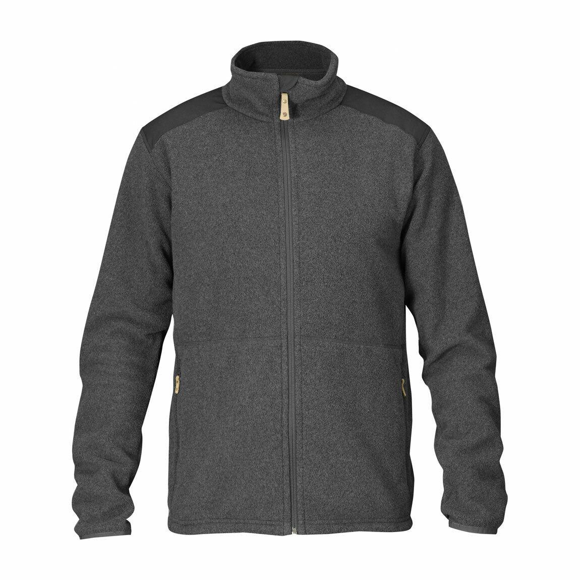 Fjallraven Sten Fleece Mens Fleece - Colour   Fog - Size  XL  store sale outlet