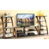 Tv Console Table Media Stand Media Shelves Storage