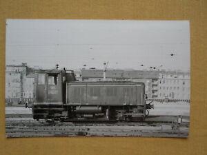 7162 Pressefoto ÖBB Diesellok 2062.07 Südbahnhof 1959