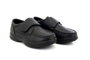 Lightweight Fastening Shoes Touch Dr Fit Wide Tony Black Keller awqnXzZtB