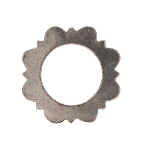 """1311-21 2.5 cm Flat Ring Antique Nickel 1/"""""""