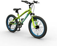 20 Inch Muddyfox Alpha Mountain Bike Outdoor Ride On Activity Kids Off Road 7+