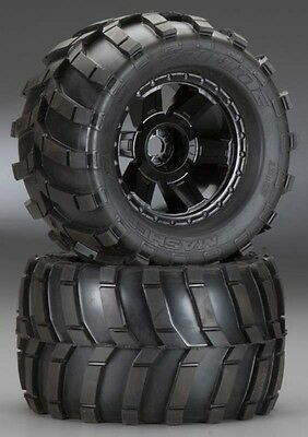 """Pro-Line [PRO] Masher 3.8"""" All Terrain Mounted Truck Tires 1189-11 PRO118911"""