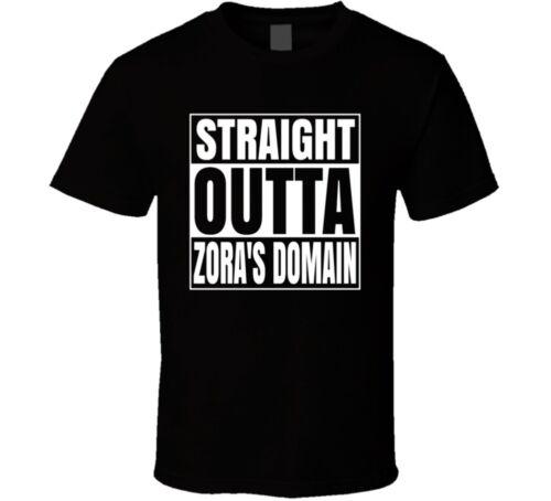 Straight Outta Zora/'s Domain Legend Of Zelda T Shirt