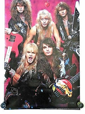 WARRANT POSTER CHERRY PIE 1990 JANI LANE JERRY DIXION STEVEN SWEET | eBay