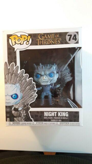 Funko Pop! | Game Of Thrones | Night King On Throne | Deluxe Vinyl Figure #74