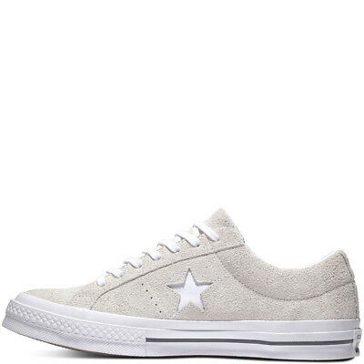 Converse One Star Vintage SUEDE Low Top Leather White Ox Trainer sz10.5 sz11 | eBay