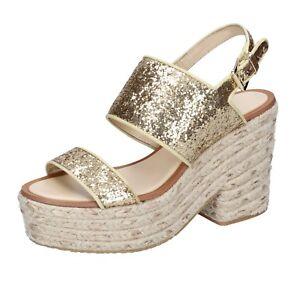 Caricamento dell immagine in corso scarpe-donna-SARA-LOPEZ-36-EU-sandali -oro- 5528bb7b040