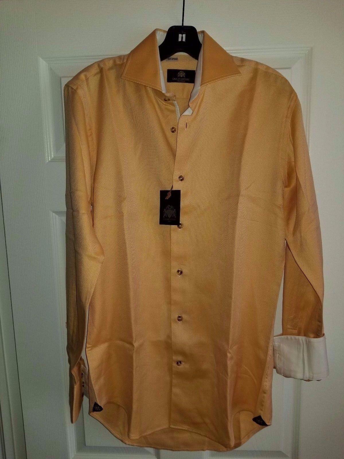 CIRCLE OF GENTLEMEN OSMAR DRESSED SHIRT SIZE 38 15