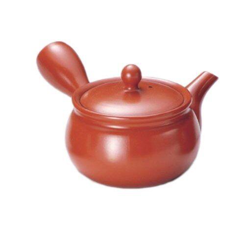 KYUSU Japanese tea pot TOKONAME yaki ware tea strainer red shudei 360cc ceramic