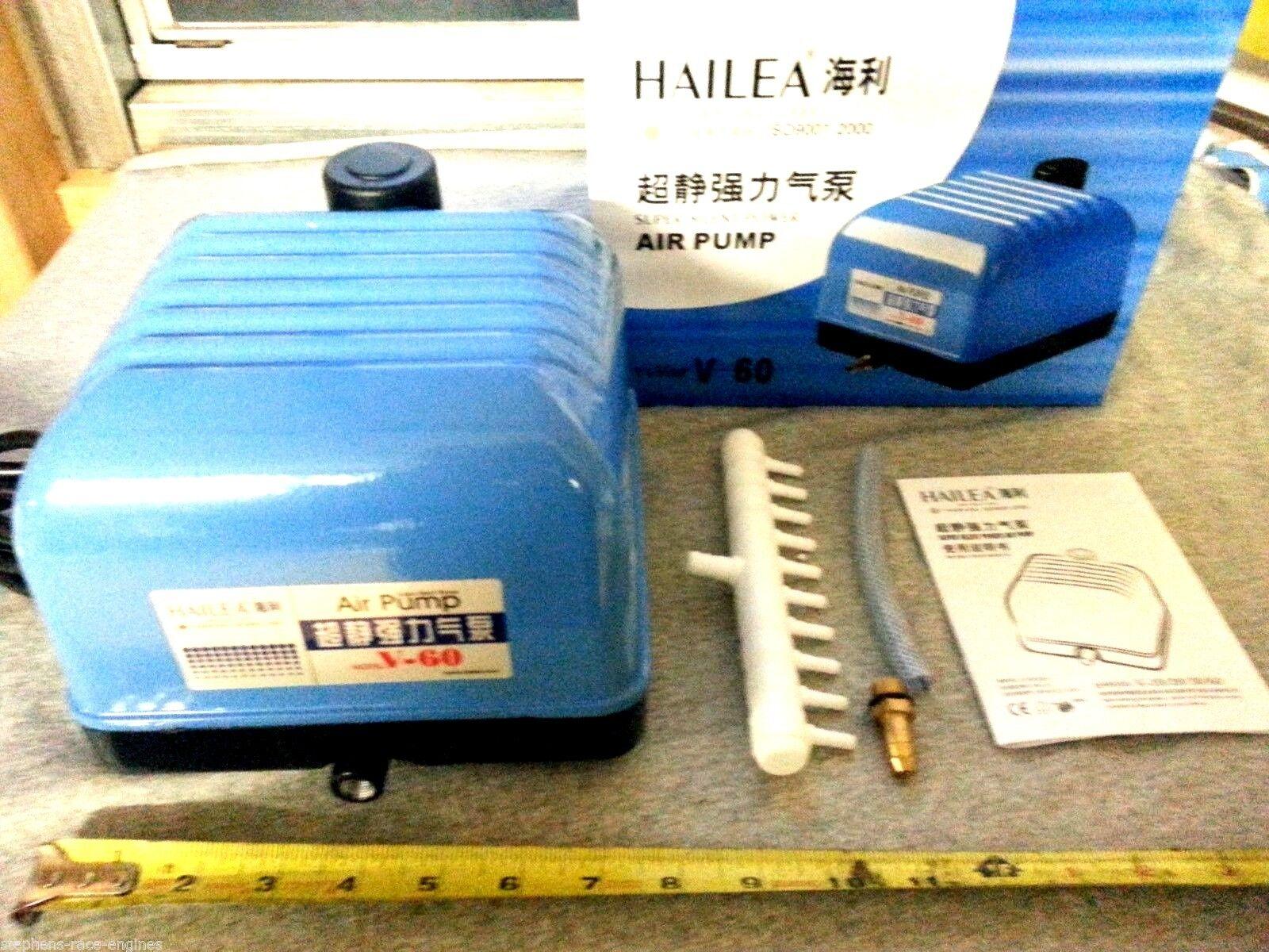 HAILEA V-60 SEPTIC POND AIR PUMP ATU TREATMENT PLANT COMPRESSOR