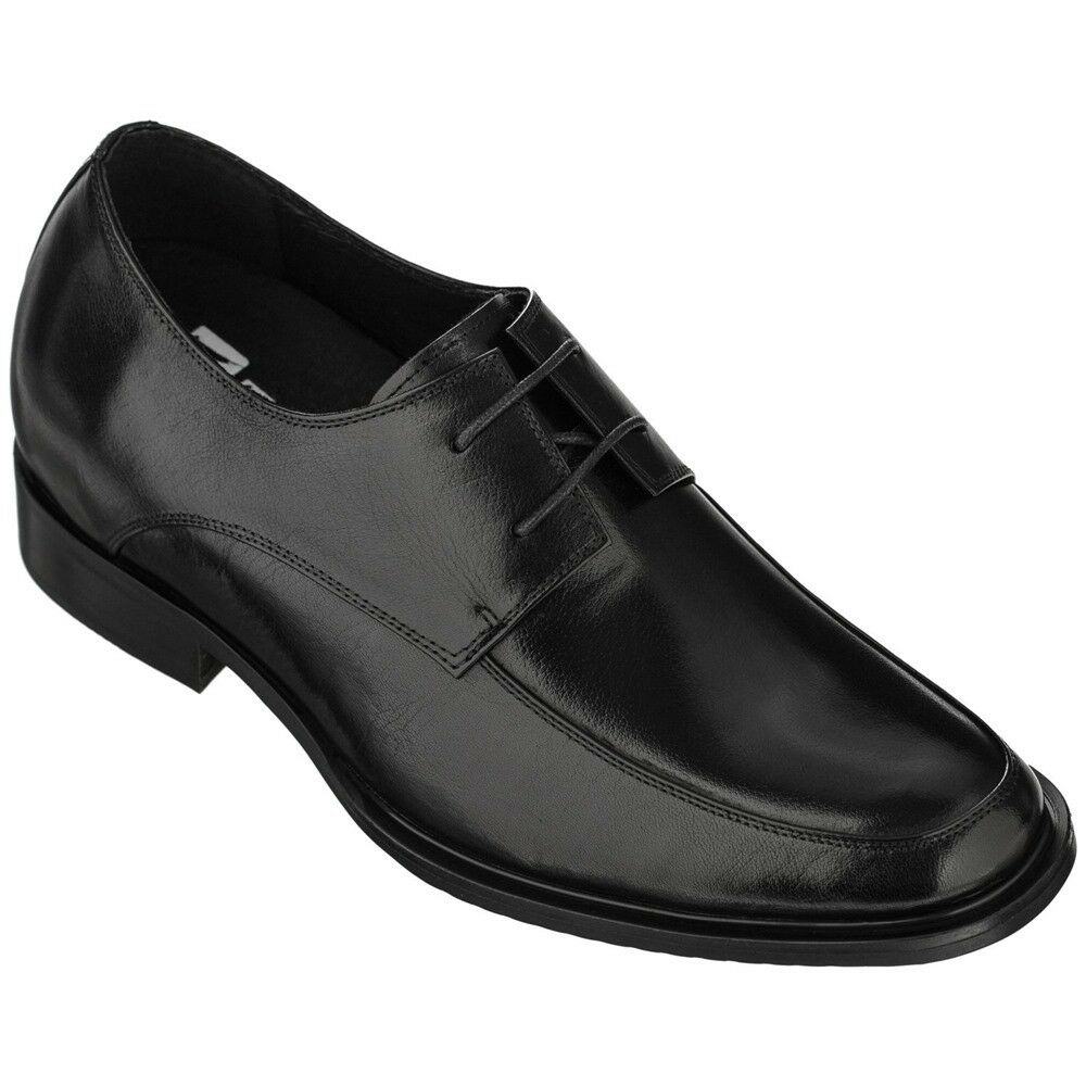 TOTO T1501 - 2.8 Inches Height Increase Elevator Classic Lace-Up Oxfords