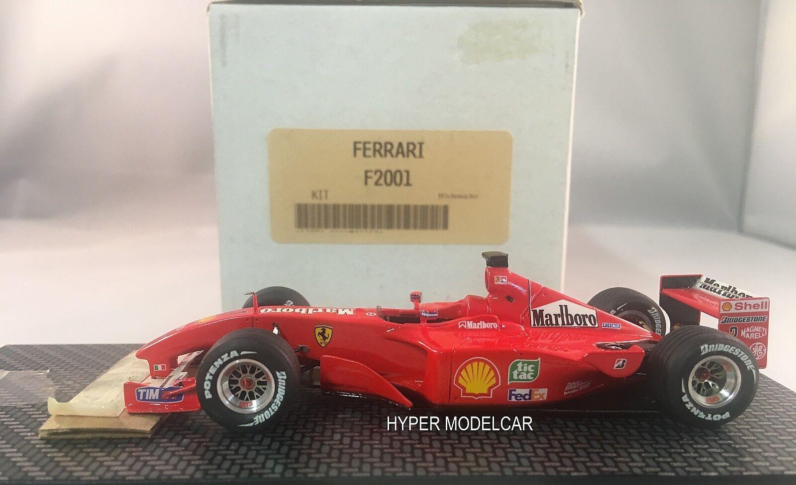 BBR Model Metal Kit 1 43 F1 Ferrari F2001 M. Schumacher 2001