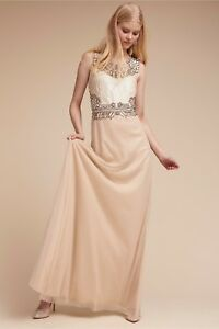 NEW-Anthropologie-BHLDN-Adrianna-Papell-Kyle-Sequin-Wedding-Gown-Maxi-Dress-420