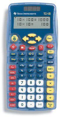 OpenBox Texas Instruments TI-15 Explorer Elementary Calculator