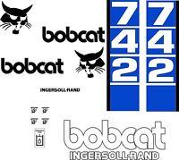 742 Replacement Decals Decal Kit / Sticker Set Skid Loader Steer Fits Bobcat