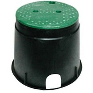 Nds-Inc-111Bc-10-034-Round-Black-Green-Irrigation-Valve-Box-amp-Cover