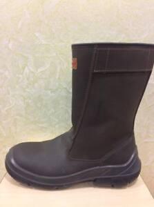 scarpe di separazione 94af8 7e056 Dettagli su HONEYWELL stivale da lavoro antinfortunistica pelle uomo 41 42  44